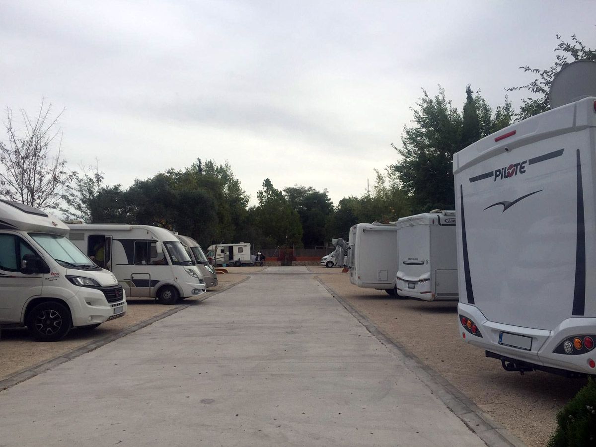 Parking de Autocaravanas Ronda